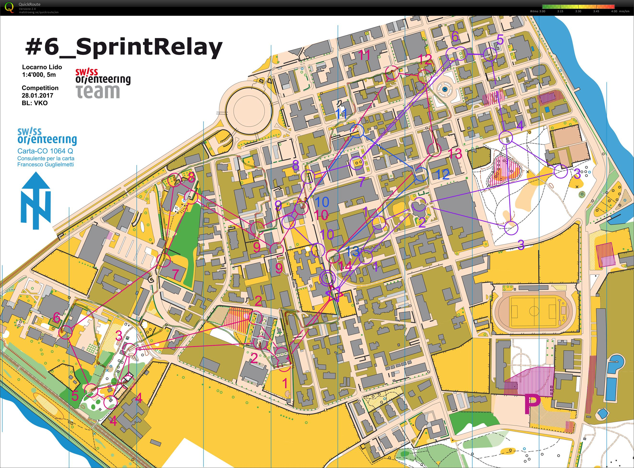 Sprint relay massenstart (2017-01-28)